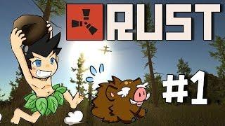 Repeat youtube video Let's Play Rust #1 - ฟาร์มป่าหาของประทังชีวิต