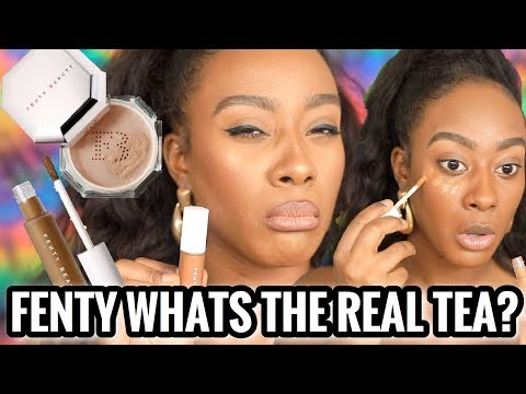 Whats The Real Tea On The New Fenty Pro Filt'r Concealer & Setting Powders/ Morenita Friendly?