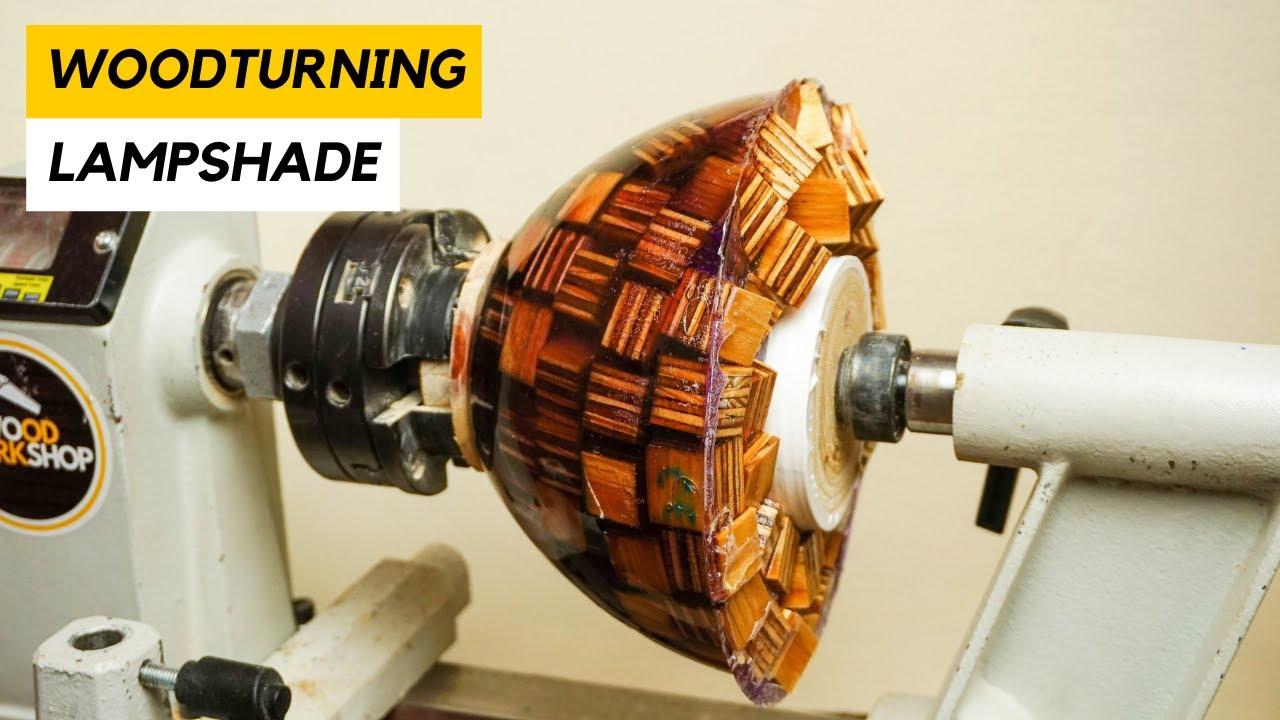 Woodturning - Plywood Lampshade