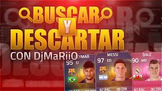 MESSI TOTS,NEYMAR TOTS Y BALE FUTTIE | BUSCAR Y DESCARTAR CHALLENGE | DjMaRiiO Y bysTaXx | FIFA 15