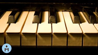 Long Playlist of Relaxing Soft Piano Music to Sleep and Study One Hour ♝801
