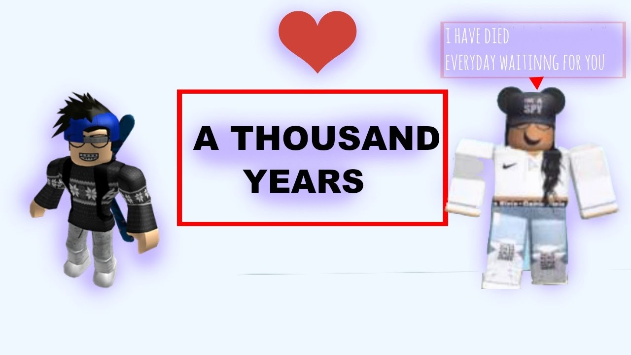 A Thousand Years Roblox Music Video - a thousand years roblox id code