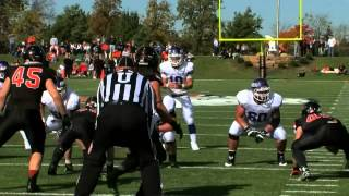Mount Union - Ohio Northern highlights (10/11/14)
