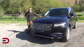 Here's the 2016 Volvo XC90 T6 AWD on Everyman Driver
