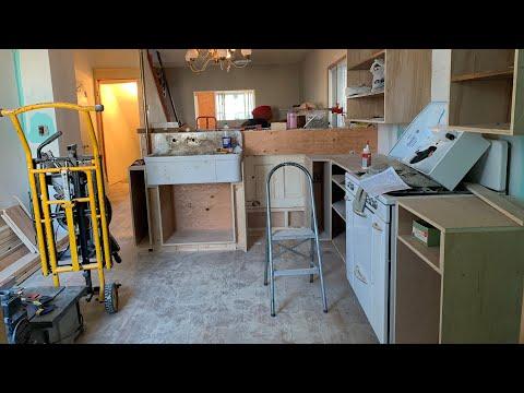 Part 10. The Potters House. Kitchen Build Begins!