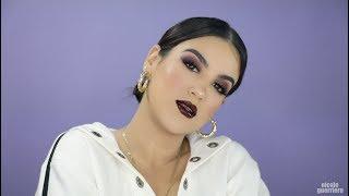 monochromatic-cranberries-makeup-tutorial