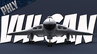 AVRO VULCAN BOMBER - Jet-Powered Tailless Delta Wing Bomber (War Thunder Gameplay)