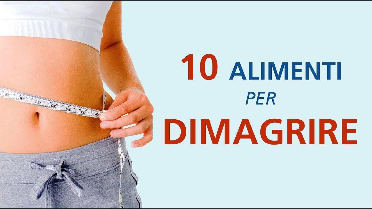 Dimagrire - 10 Alimenti per perdere peso