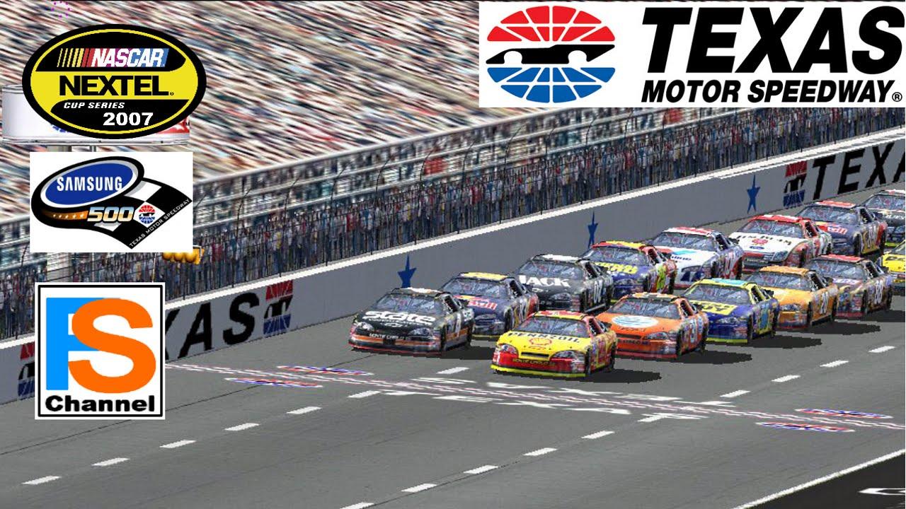 NR2003 Nextel Cup Series 2007 Track Texas Motor SpeedWay 500 Windows 10