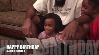 lexi gets an iphone for her birthday 📱📱🎉�