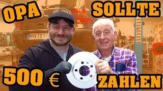 WERKSTATT ABZOCKE? 🛠 MEIN OPA SOLL 500 € ZAHLEN  🛠 #MRDOIT #VW #OPA