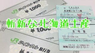 【北海道名物】総販の入場券とツインクル旅行券を購入して使う