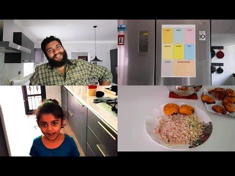 Funny Breakfast Vlog - Aval Upma & Kathirikai Bajji - YUMMY TUMMY TAMIL VLOG