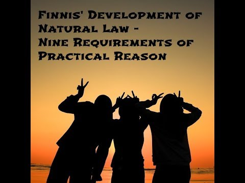 Finnis - The Nine Requirements Of Practical Reason