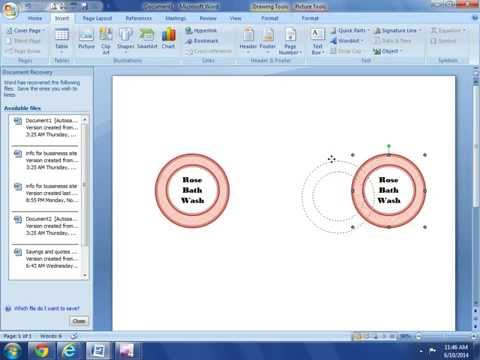 How to Make your own Labels, Tags and Printables with MS Word/ DIY Simple Labels