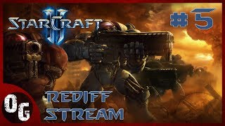 [FR] Rediffusion Stream Starcraft 2 : Wings of Liberty (Campagne) 💙 Live du 18/09 / Partie 5