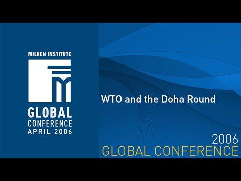 Global Conference 2006 WTO and the Doha Round