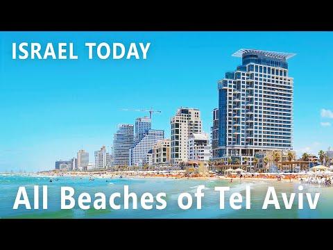 TEL AVIV Promenade TODAY, All Beaches