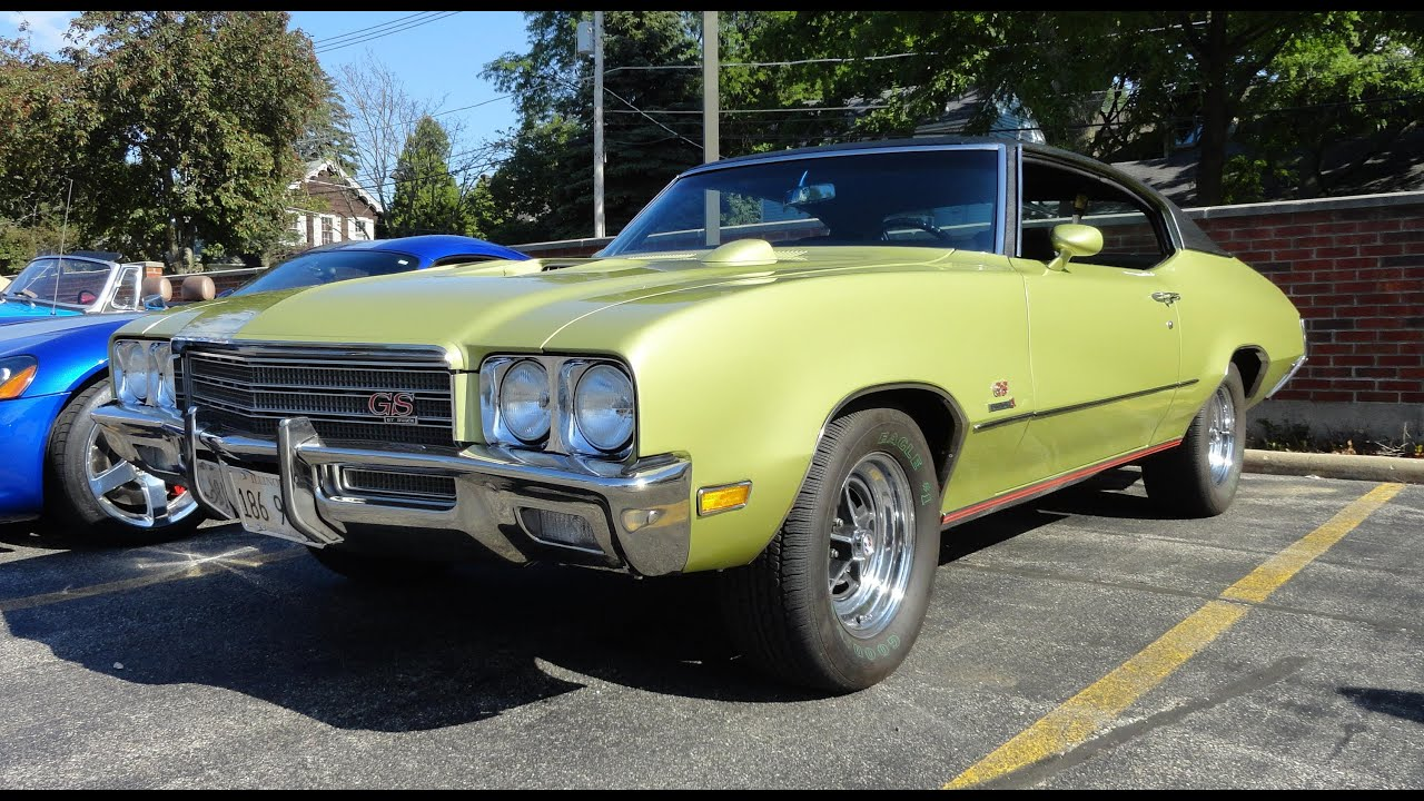 1971 Buick Gran Sport Gs Stage 1 My Car Story With Lou