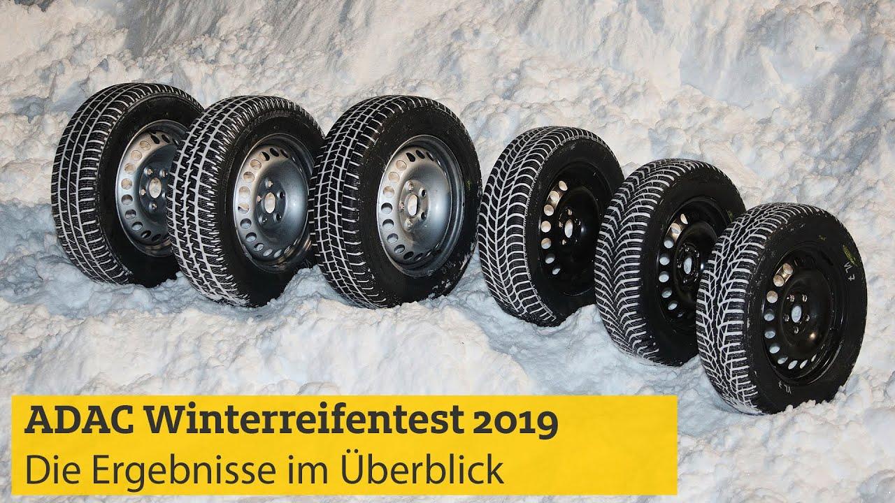 Adac Winterreifentest 2019 Die Ergebnisse Im Uberblick Adac Youtube