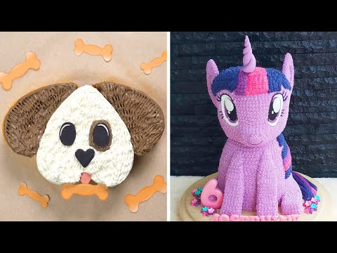 Tasty Cake Lovers | 10 Easy Cake Decorating Tutorials For Birthday | So Yummy Colorful Cake Recipes