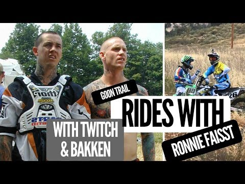 Ronnie Faisst - Trail Ride Session with Twitch and Andy Bakken