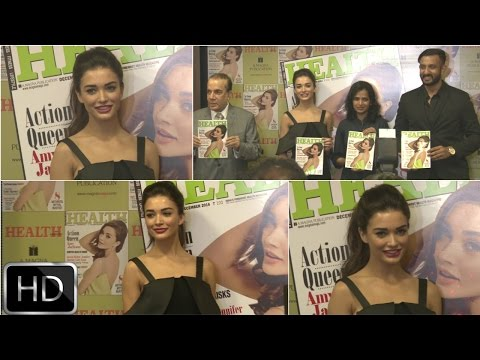 UNCUT : Amy Jackson On Cover Page Of Health Magazine Of Winter Issue