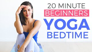 20 minute Bedtime Yoga for Beginners Stretch