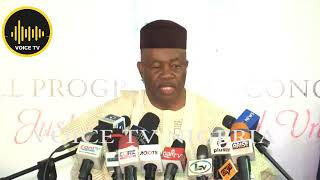 Just In: Sen. Akpabio Talk Hard On Akwa- Ibom Politic, APC Chance Of Winning Election