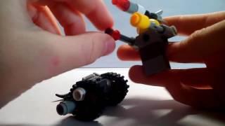 3 Лего самоделки  на тему война