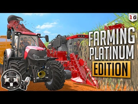 NOVA FAZENDA DO JÃO : FARMING SIMULATOR 2017 DLC PLATINUM EDITION EXPANSION - VOLANTE G27 thumbnail