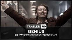 Genius - Die tausend Seiten einer Freundschaft - Trailer (deutsch/german; FSK 6)