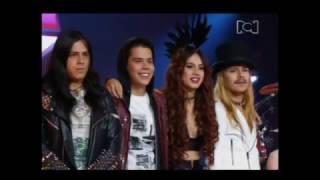 LOS CISNEROS - Blitzkrieg Bop (Ramones) Gala 6 - Factor XF 2015