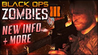 Black Ops 3 ZOMBIES  - Der Reise Remake, MAP names, MUMMY ZOMBIES + More (Black Ops 3 Zombies)