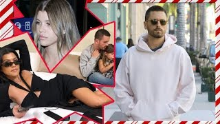 Scott Disick Holiday Shops Alone As Sofia And Kourtney Fight Over