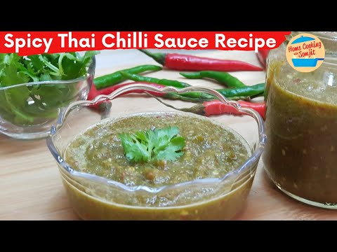 Spicy Thai Chilli Dipping Sauce Recipe | How to Store Chillis | No Cooking Required