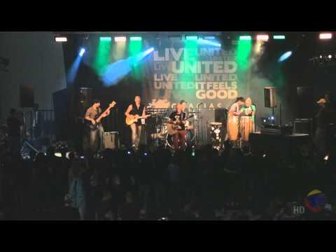 Live United of Puerto Rico actividad que participó el artista sie7e
