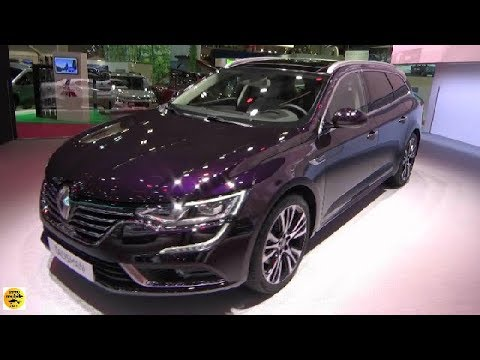 2019 renault talisman estate initiale paris dci 200 exterior and interior paris auto show. Black Bedroom Furniture Sets. Home Design Ideas