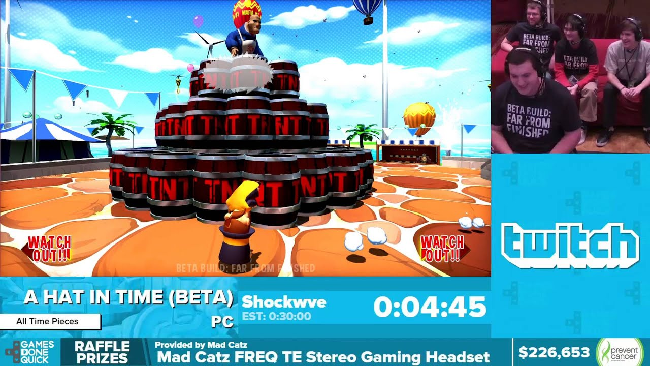 A Hat In Time Beta By Shockwve In 25 44 Awesome Games
