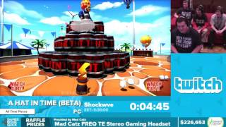 A Hat In Time (Beta) by Shockwve in 25:44 - Awesome Games Done Quick 2016 - Part 38