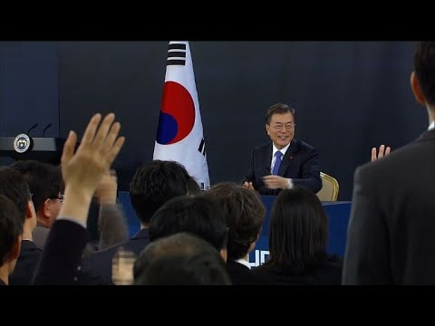 S. Korea's Moon willing to hold summit with Kim Jong-Un