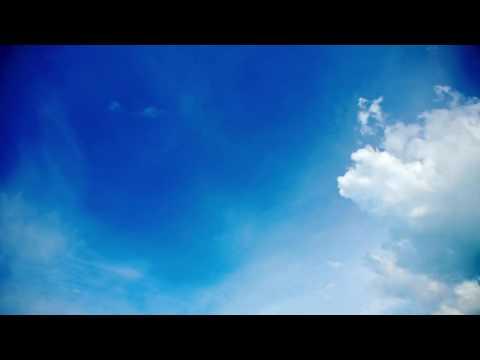 Футаж Небо с облаками