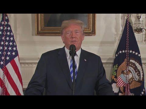 """Nucleare Iran, Trump: """"Usa fuori dall'accordo. Pronti a reintrodurre sanzioni"""""""