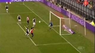 Feyenoord - Heracles Almelo (12 apr 2009) samenvatting