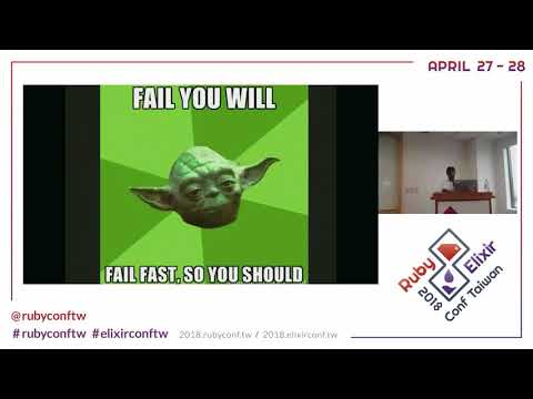 RubyElixirConfTaiwan 2018: Embracing failures to prevent meltdown by Harisankar P S