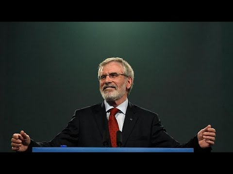 Gerry Adams deixa a presidência do Sin Féin