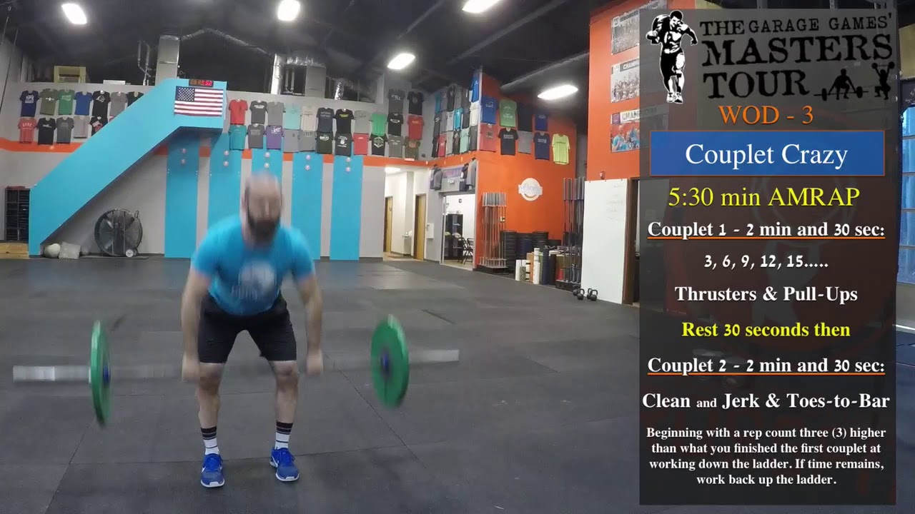 Garage Games Masters Wod 2018 Garage Games Masters Tour Wod 3