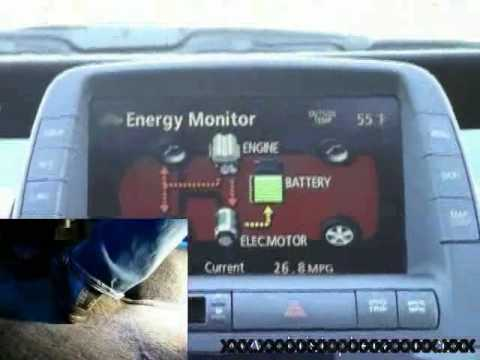 Toyota Prius Mfd Consumption Energy Monitor Comparison