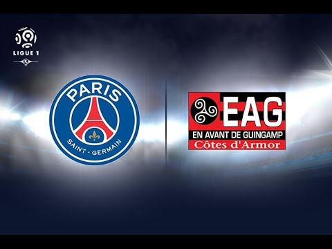 Guingamp vs paris st. germain (psg) (live) (neymar's first match)
