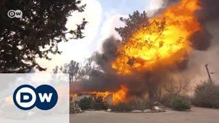 اندلاع عدد كبير من الحرائق في غرب أمريكا | الأخبار